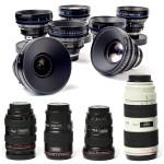 ef mount canon lens hire