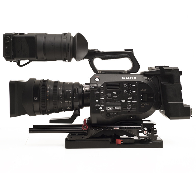 Sony FS7 with 28-135mm G and XDCA-FS7