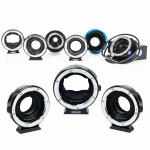 adaptors lens hire